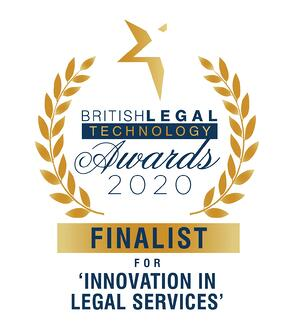 BLTA2020 - Innovation in Legal Services - Finalist - Logo